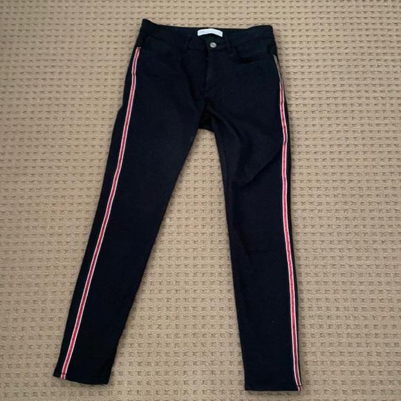 Zara jeans black size 28/6. Worn 2x